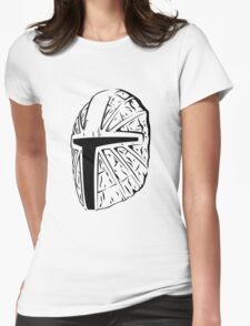 Mask of Mandalore the Indomitable Womens Fitted T-Shirt
