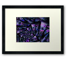 Purple Dreams Abstract Framed Print