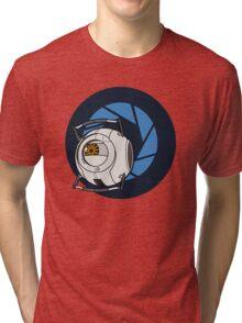Portal 2 Space Core! Tri-blend T-Shirt