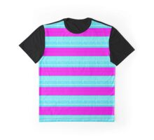 stripey Graphic T-Shirt