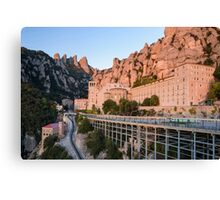 Approach to Montserrat Canvas Print