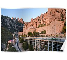 Approach to Montserrat Poster
