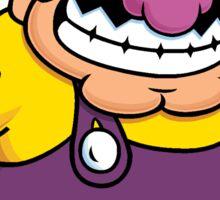 Wario from the Mario series Sticker