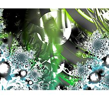 Vector Forest Art Photographic Print