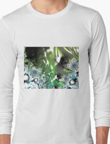 Vector Forest Art Long Sleeve T-Shirt