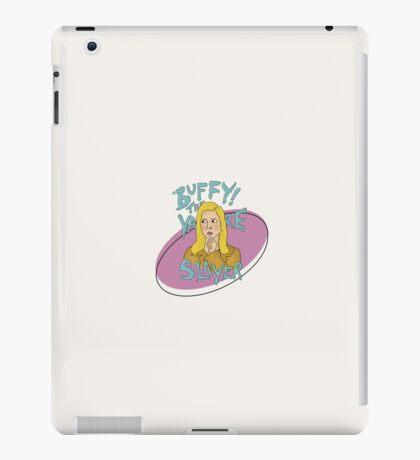 lollipop buffy iPad Case/Skin
