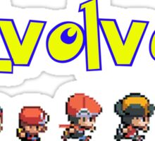Pokemon Trainer Sticker