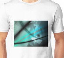 Blue Minimalist Art Unisex T-Shirt