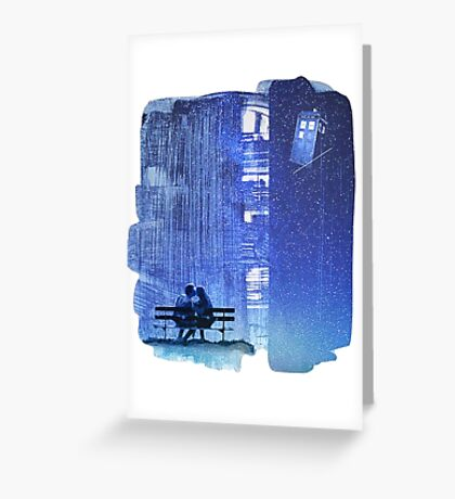 Doctor who - Amy and Rory Greeting Card