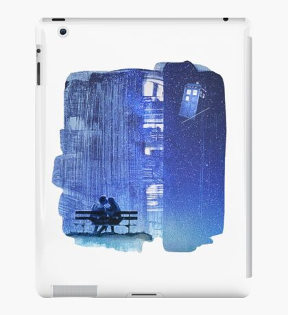 Doctor who - Amy and Rory iPad Case/Skin