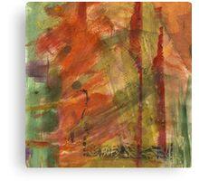 Burned Orange Canvas Print