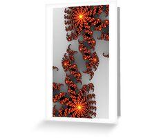 Meditative Inversion  Greeting Card