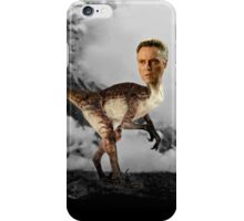 ChristopheRAPTOR Walken - Christopher Walken Velociraptor iPhone Case/Skin