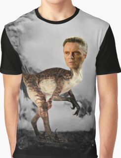 ChristopheRAPTOR Walken - Christopher Walken Velociraptor Graphic T-Shirt