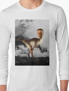 ChristopheRAPTOR Walken - Christopher Walken Velociraptor Long Sleeve T-Shirt