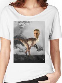 ChristopheRAPTOR Walken - Christopher Walken Velociraptor Women's Relaxed Fit T-Shirt