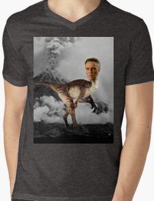 ChristopheRAPTOR Walken - Christopher Walken Velociraptor Mens V-Neck T-Shirt