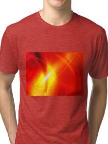 Fire Conceptual Art Tri-blend T-Shirt