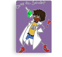 Carlos the Scientist Canvas Print