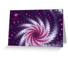 Cosmic Dust Greeting Card