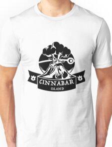 Cinnabar Island Pokemon Gym Anime Inspired Unisex T-Shirt
