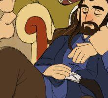 Thorin and Bilbo Sticker