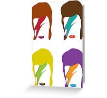 STARMAN BOWIE Greeting Card