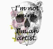 I'm an artist! Womens Fitted T-Shirt