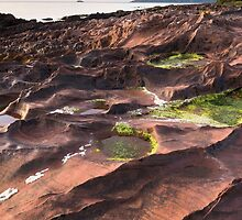Corrie rocks by Christopher Cullen