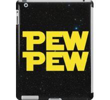 Pew pew! iPad Case/Skin