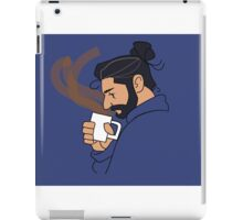Thorn with coffee iPad Case/Skin