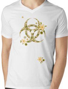 Sweet biohazard Mens V-Neck T-Shirt
