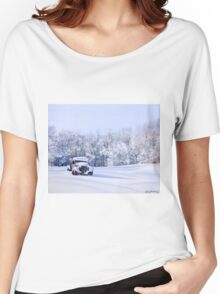 Betsey in the Snow Women's Relaxed Fit T-Shirt