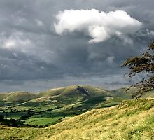 Howgills View Pano by Alex johnson Landscape Photography