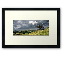 Howgills View Pano Framed Print