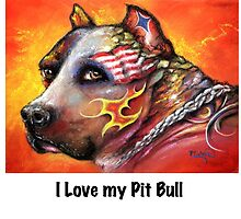 Pit Bull by Patricia Lintner