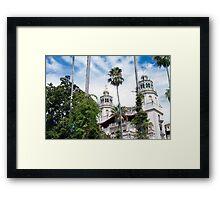 Hearst Castle Framed Print