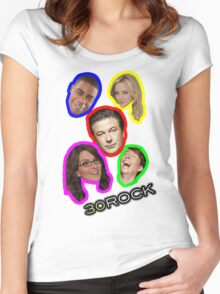 30 Rock Women's Fitted Scoop T-Shirt