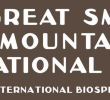 Great Smoky Mountains National Park, NC & TN, USA Sticker