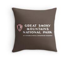 Great Smoky Mountains National Park, NC & TN, USA Throw Pillow