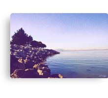 Edge of the Sea Canvas Print