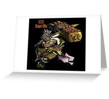 Xuan Wu Greeting Card