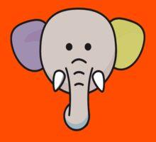 Font Elephant Kids Tee