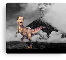 Bill Murray TRex Canvas Print