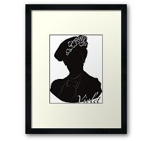 Downton Abbey, Violet Framed Print