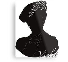 Downton Abbey, Violet Metal Print