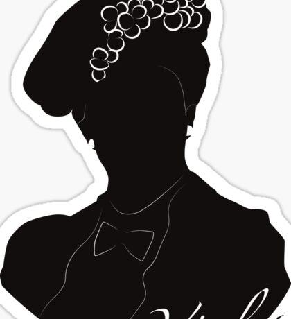 Downton Abbey, Violet Sticker