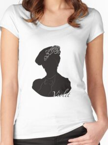 Downton Abbey, Violet Women's Fitted Scoop T-Shirt