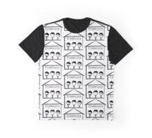 The Classic look- Black Graphic T-Shirt