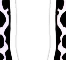 Lovingly, Giraffe (Pantone's Serenity) Sticker